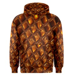 Caramel Honeycomb An Abstract Image Men s Pullover Hoodie