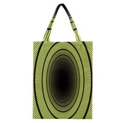 Spiral Tunnel Abstract Background Pattern Classic Tote Bag by Simbadda