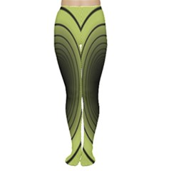 Spiral Tunnel Abstract Background Pattern Women s Tights