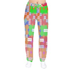 Abstract Polka Dot Pattern Digitally Created Abstract Background Pattern With An Urban Feel Drawstring Pants