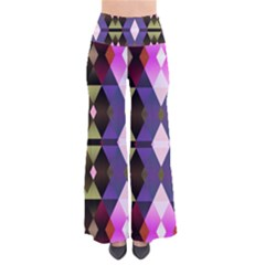 Geometric Abstract Background Art Pants by Nexatart