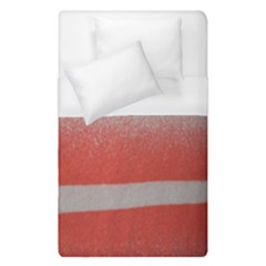 Orange Stripes Colorful Background Textile Cotton Cloth Pattern Stripes Colorful Orange Neo Duvet Cover (single Size)