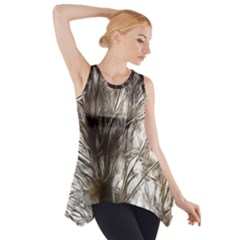 Tree Art Artistic Tree Abstract Background Side Drop Tank Tunic by Nexatart