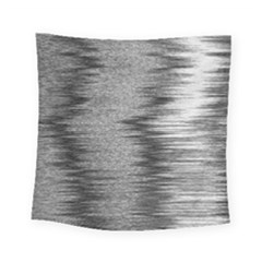 Rectangle Abstract Background Black And White In Rectangle Shape Square Tapestry (small) by Nexatart