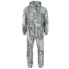 The Abstract Design On The Xuzhou Art Museum Hooded Jumpsuit (men)