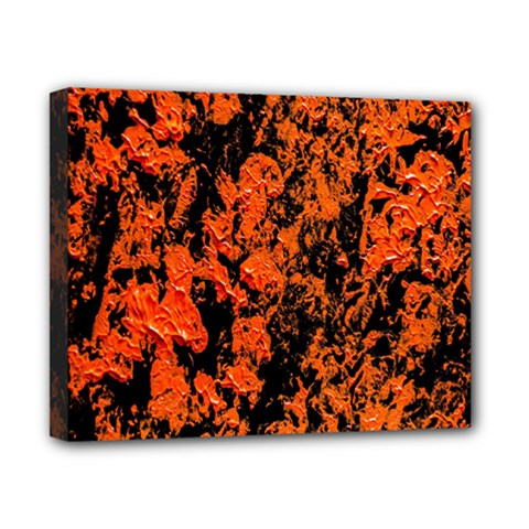 Abstract Orange Background Canvas 10  X 8