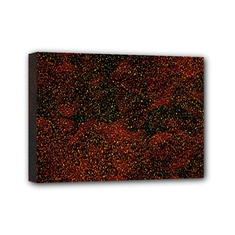 Olive Seamless Abstract Background Mini Canvas 7  X 5
