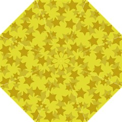 Yellow Star Straight Umbrellas by Mariart