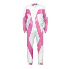 Breast Cancer Ribbon Pink Onepiece Jumpsuit (kids) by Mariart