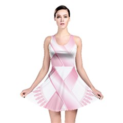 Breast Cancer Ribbon Pink Girl Women Reversible Skater Dress by Mariart