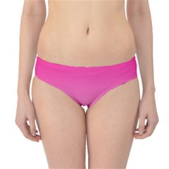 Gradients Pink White Hipster Bikini Bottoms by Mariart