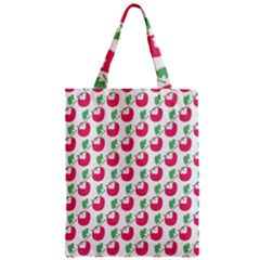 Fruit Pink Green Mangosteen Classic Tote Bag by Mariart