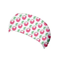 Fruit Pink Green Mangosteen Yoga Headband