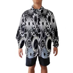 Gears Technology Steel Mechanical Chain Iron Wind Breaker (kids) by Mariart