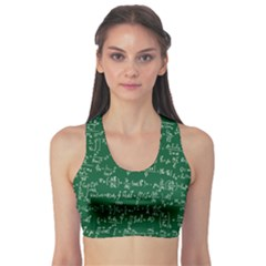 Formula Number Green Board Sports Bra by Mariart
