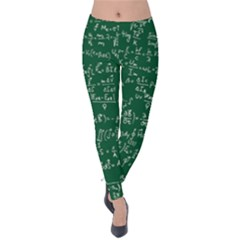 Formula Number Green Board Velvet Leggings