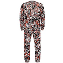 Hurley Mix Electric Electric Red Blend Onepiece Jumpsuit (men)  by Mariart