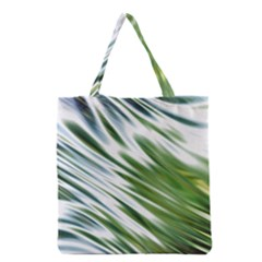 Fluorescent Flames Background Light Effect Abstract Grocery Tote Bag by Nexatart