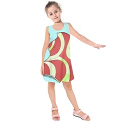 Make Bedroom Unique Kids  Sleeveless Dress by Mariart