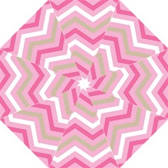 Pink Red White Grey Chevron Wave Hook Handle Umbrellas (medium) by Mariart