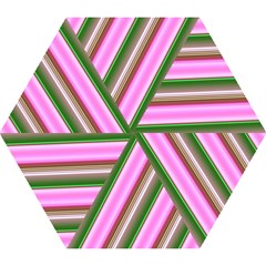 Pink And Green Abstract Pattern Background Mini Folding Umbrellas by Nexatart