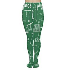 Scientific Formulas Board Green Women s Tights by Mariart
