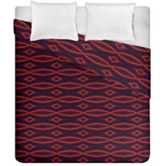 Repeated Tapestry Pattern Abstract Repetition Duvet Cover Double Side (california King Size) by Nexatart