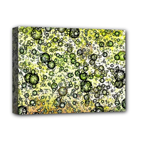 Chaos Background Other Abstract And Chaotic Patterns Deluxe Canvas 16  X 12   by Nexatart