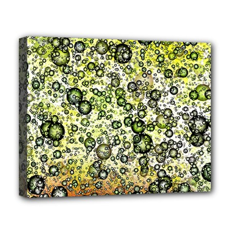 Chaos Background Other Abstract And Chaotic Patterns Deluxe Canvas 20  X 16   by Nexatart