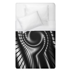Abstract Background Resembling To Metal Grid Duvet Cover (single Size) by Nexatart