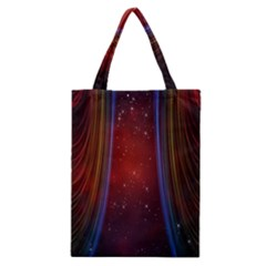 Bright Background With Stars And Air Curtains Classic Tote Bag by Nexatart