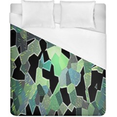 Wallpaper Background With Lighted Pattern Duvet Cover (california King Size) by Nexatart