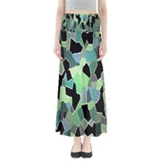 Wallpaper Background With Lighted Pattern Maxi Skirts by Nexatart