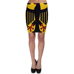 Coat Of Arms Of Germany Bodycon Skirt by abbeyz71