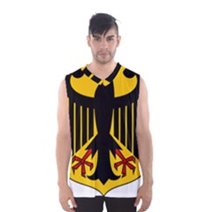 Coat Of Arms Of Germany Men s Basketball Tank Top by abbeyz71