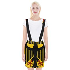 Coat Of Arms Of Germany Suspender Skirt by abbeyz71