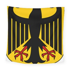 Coat Of Arms Of Germany Square Tapestry (large) by abbeyz71