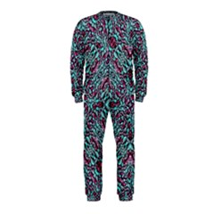 Stylized Texture Luxury Ornate Onepiece Jumpsuit (kids) by dflcprintsclothing