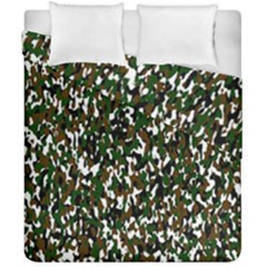 Camouflaged Seamless Pattern Abstract Duvet Cover Double Side (california King Size) by Nexatart