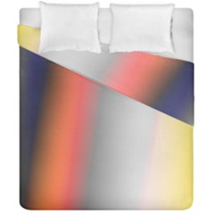 Digitally Created Abstract Colour Blur Background Duvet Cover Double Side (california King Size) by Nexatart