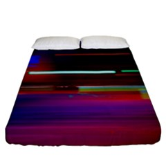 Abstract Background Pictures Fitted Sheet (king Size) by Nexatart