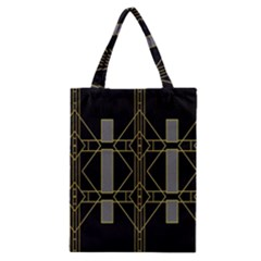Simple Art Deco Style Art Pattern Classic Tote Bag by Nexatart