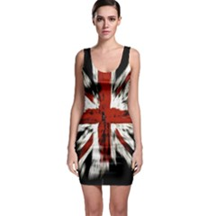 British Flag Sleeveless Bodycon Dress by Nexatart