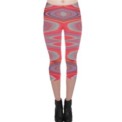 Hard Boiled Candy Abstract Capri Leggings