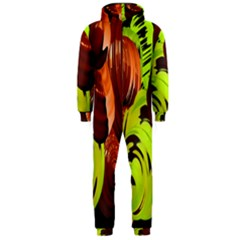 Neutral Abstract Picture Sweet Shit Confectioner Hooded Jumpsuit (men)  by Nexatart