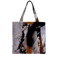 Abstract Graffiti Background Zipper Grocery Tote Bag by Nexatart