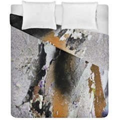 Abstract Graffiti Background Duvet Cover Double Side (california King Size) by Nexatart