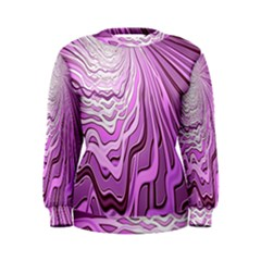 Light Pattern Abstract Background Wallpaper Women s Sweatshirt
