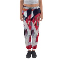 Abstract Graffiti Background Wallpaper Of Close Up Of Peeling Women s Jogger Sweatpants by Nexatart