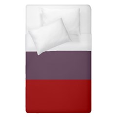 Brown Purple Red Duvet Cover (single Size) by Jojostore